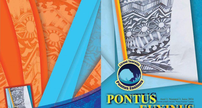 """Revista liceului """"Pontus Euxinus"""" – Numărul 3"""