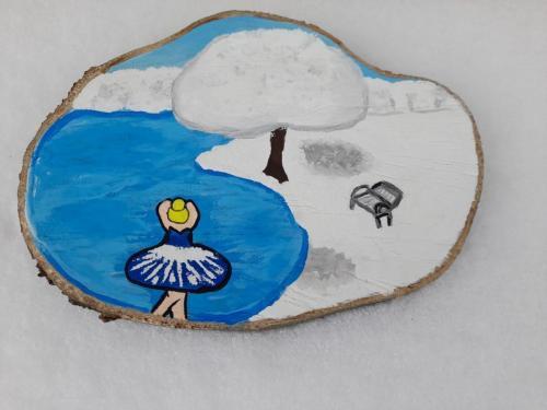 Iarna la lac  Calistrat Petronela Georgeta  clasa X A ZI  Prof. Borcea Elena